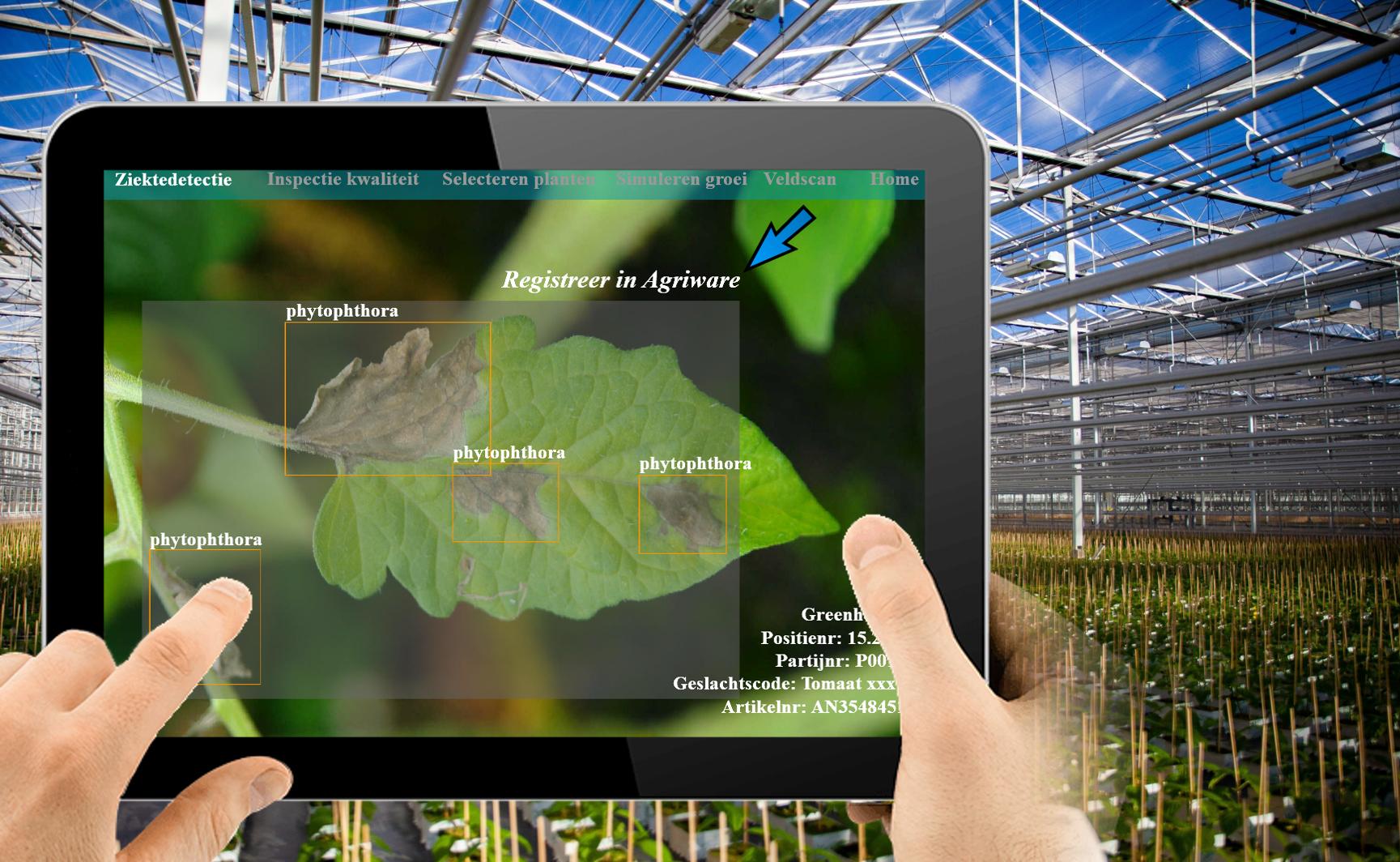Augmented Reality toepassen in de tuinbouw